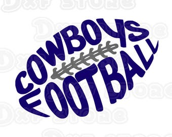 Cowboys,dallas cowboys,football,college team SVG,DXF,PNG for use with Silhouette Studio and Cricut Design Space