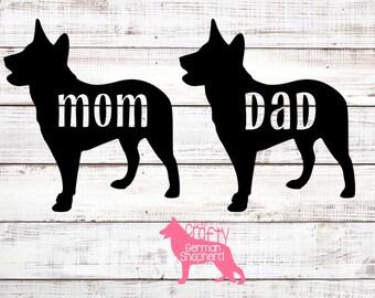 Australian Cattle Dog Mom or Dad