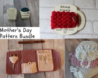 MOTHER'S DAY CROCHET pattern bundle crochet patterns mother's day crochet bundle mother's day collection