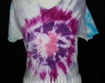 Festival tie dye shirt