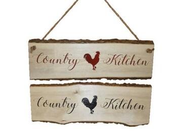 Chicken Kitchen Wall Decor chicken decor | etsy