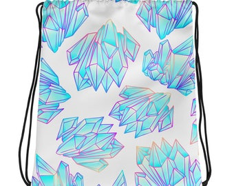 Cartoon Crystal Drawstring bag
