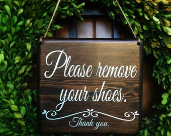 Please remove your Shoes Sign |  Remove Shoes Sign | No Shoes Door Signs | Front Door Signs | Remove Shoes Door Sign | Take off shoes sign