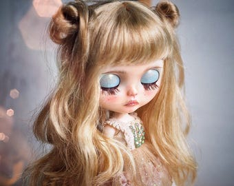 "RESERVED for ""Cat"" Please don't buy unless you're her : ""Hazelnut"" OOAK Custom by Another Blythe"