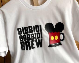 Bibbidi Bobbidi Brew Shirt~ Men's Disney Vacation Shirt~ Disney Dad Shirt