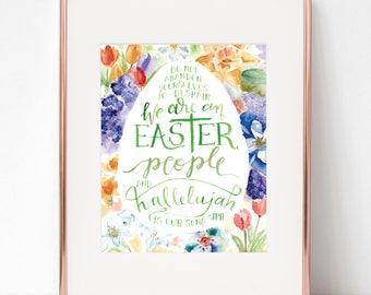 Hallelujah Is Our Song Pope John Paul II 8x10 print