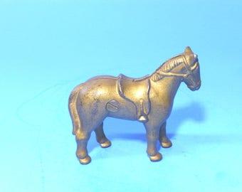 "Cast Iron ""Small Saddle Horse"" Still Bank  A. C. Williams 1934"