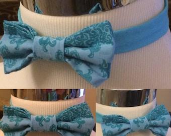 The Bleu Leon Bow Tie - Little Guy Tie