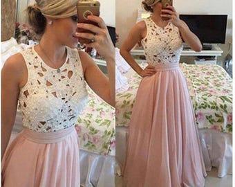 Dress rose beautiful