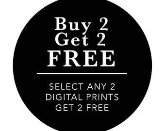 Digital Print Promotion, Digital Download, Inspirational Print, Printable Art, Downloadable Prints
