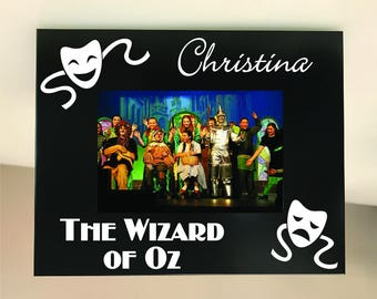 PERSONALIZED! School Play Picture Frame