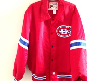 Montreal Canadians Vintage Shain of Canada Hockey Jacket