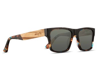 Arrow || Space || Wooden Sunglasses by Johnny Fly