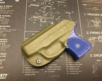 SALE ! Ruger LCP 380 Kydex IWB Holster - od Green / Right Hand
