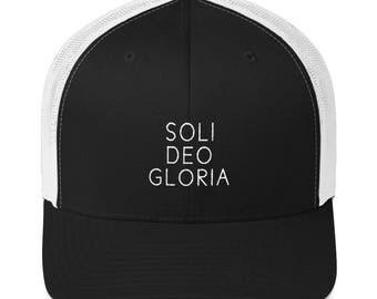 Soli Deo Gloria Trucker Cap