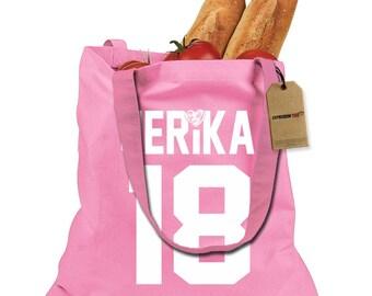 Jerika 18 Shopping Tote Bag