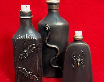 Apothecary Bottles Group H