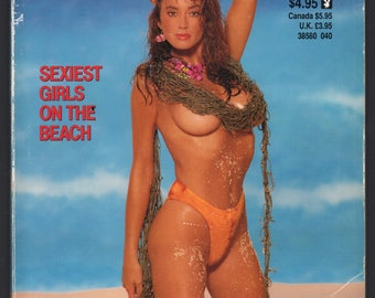 Mature Vintage Playboy Special Edition Mens Girlie Pinup Magazine : Playboy's Bathing Beauties April 1990