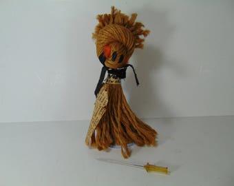 Vintage Louisiana Voo Doo Doll, Folk Art Doll
