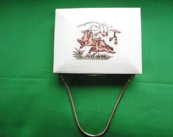 Vintage Evening Purse Compact Cigarette Case