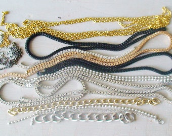 SET of 53 g string end stock 20 / 90 CM diameters and various sizes