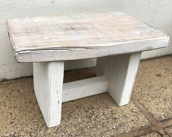 Driftwood & Reclaimed Wood Small Stool