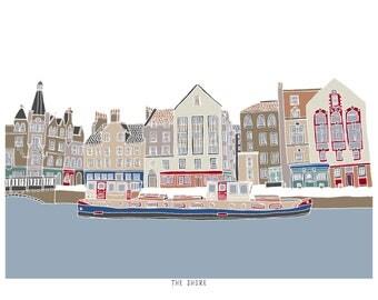 The Shore Leith Edinburgh Print