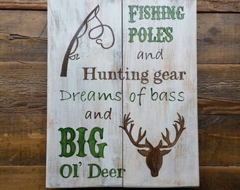 Hunting sign, fishing sign