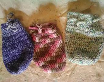 Deck Bag tarot deck bag oracle bag accessories bag crochet