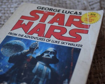 Star Wars. George Lucas. A Vintage Book. Star Wars Original Collectable Book. 1977. With Original Colour photographs.