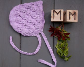 Baby's Lily Vintage Style Bonnet