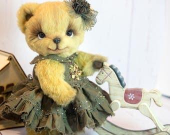 Artist teddy bear ARISHA by Elena Stanilevici OOAK