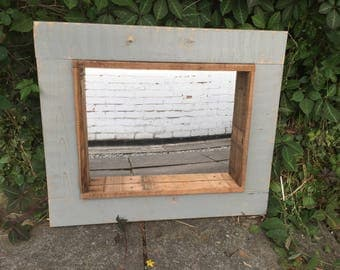Rustic Wooden Mirror lovely farmhouse mirror wooden hand crafted mirror