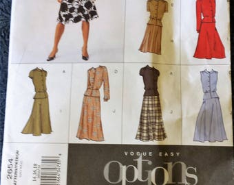 Easy Vogue Pattern Size, 12,14 and 16