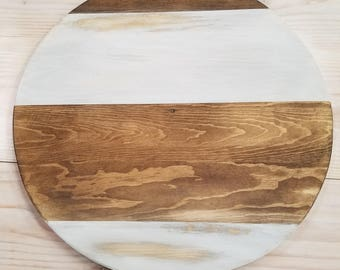 """20"""" Wood Round Wall Hanging"""