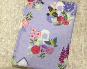 Fabric covered notebook / handmade gift idea