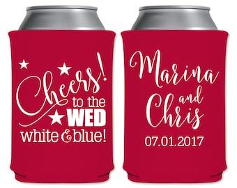 Neoprene Can Coolers Beverage Insulator Personalized Wedding Favor
