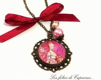 BEYOND REINE• •PATISSERIE cabochon necklace