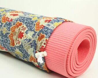 Cotton Yoga Pilates Mat Bag-
