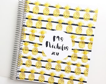 2018 Weekly Planner - 12 Months + Bonus Month - Whistle and Birch - 2018  Diary - 2018 Planner