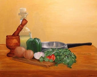 Sofrito - Puerto Rican Limited Edition Giclee Print