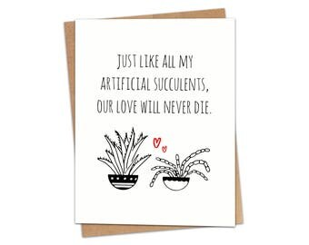 Our Love Will Never Die Greeting Card SKU C228