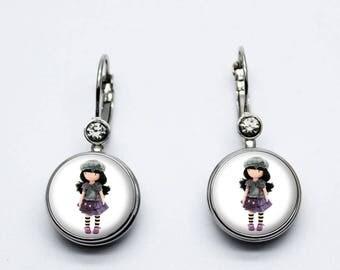 Doll gorjuss Hat earrings