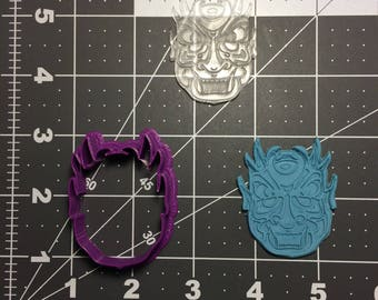 Culture Mask 101 Cookie Cutter and Stamp (Imprinted)