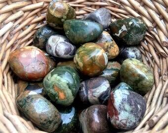 Tumbled Rhyolite
