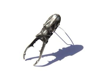 Cyclommatus (Stag Beetle) Brooch