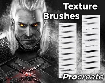 Texture Brushes - Procreate