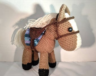 Amigurumi Horse Doll