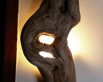 Natural Driftwood ornament