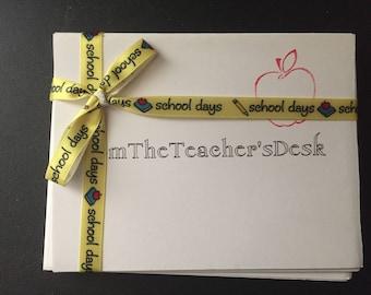 From the teachers desk.